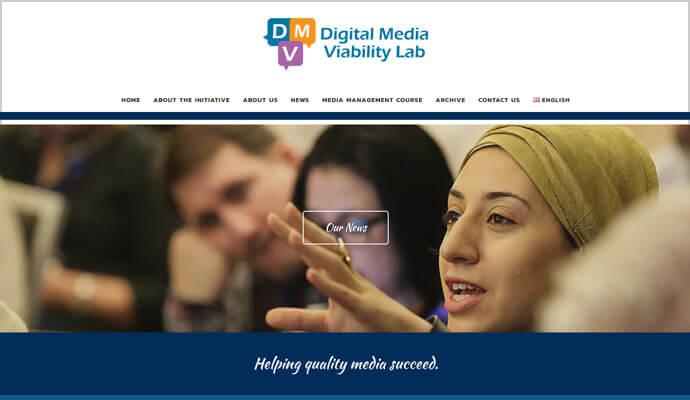 Beispiel Webseite von greme.de - DW Akademie - Maharat Foundation